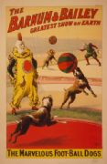 Vintage Circus Poster The Barnum & Bailey greatest show on earth 1900